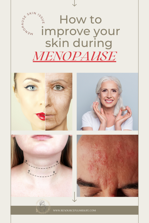 Throughout life, women often suffer from various skin problems. However, they do not end with the arrival of menopause. During the first menstrual cycle and early adolescence,